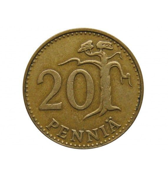 Финляндия 20 пенни 1963 г.