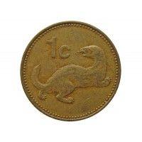 Мальта 1 цент 1986 г.