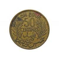 Тунис 50 сантимов 1921 г.