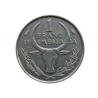 Мадагаскар 1 франк 1965 г.
