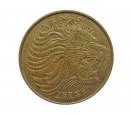 Эфиопия 10 центов 1977 г.
