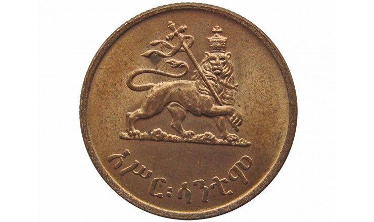 Эфиопия 10 центов 1936 г.