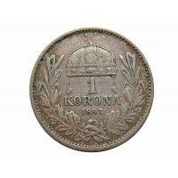 Венгрия 1 крона 1893 г.