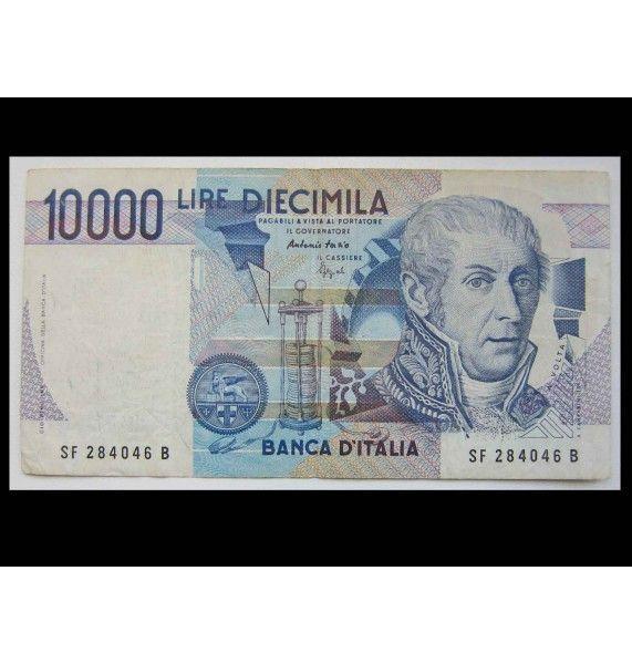 Италия 10000 лир 1984 г.
