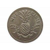 Багамы 5 центов 1975 г.