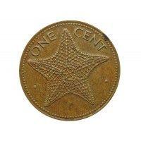 Багамы 1 цент 1974 г.