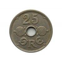Дания 25 эре 1934 г.