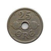 Дания 25 эре 1924 г.