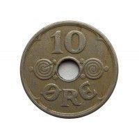 Дания 10 эре 1937 г.