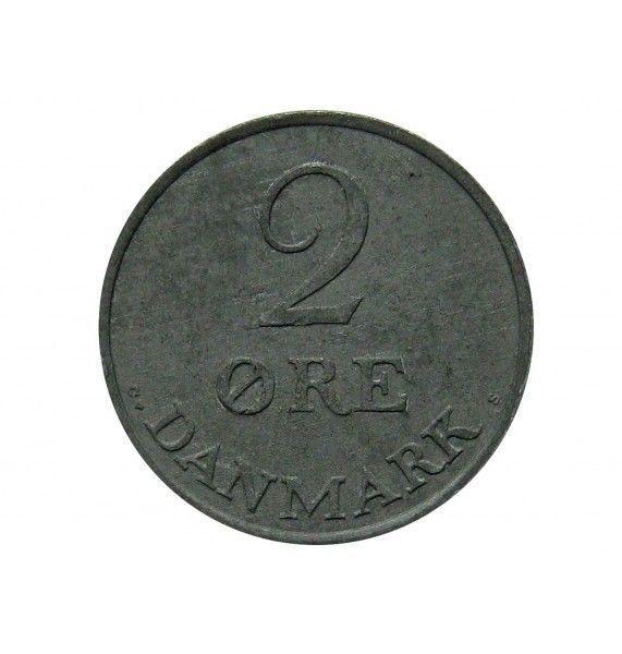 Дания 2 эре 1961 г.
