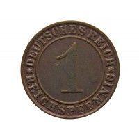 Германия 1 пфенниг 1934 (reichs) г. E