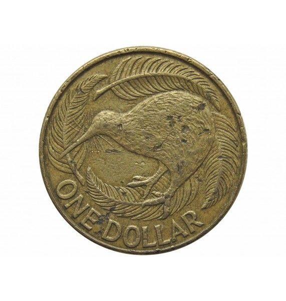 Новая Зеландия 1 доллар 1990 г.