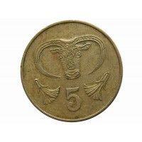Кипр 5 центов 1983 г.