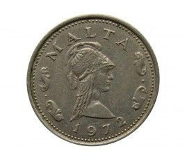 Мальта 2 цента 1972 г.