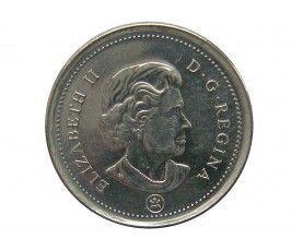 Канада 10 центов 2007 г.
