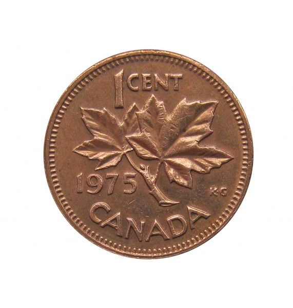 Канада 1 цент 1975 г.