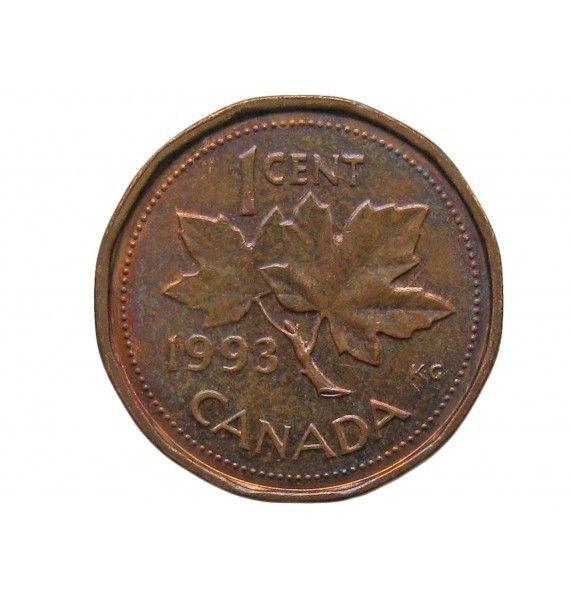 Канада 1 цент 1993 г.