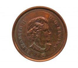 Канада 1 цент 2007 г.