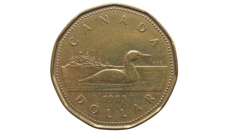 Канада 1 доллар 1989 г.