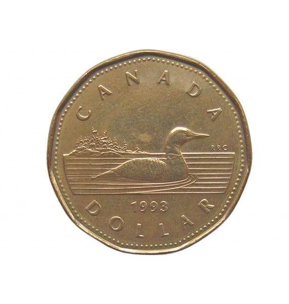 Канада 1 доллар 1993 г.