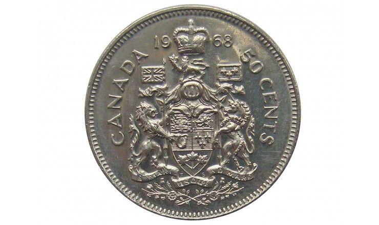 Канада 50 центов 1968 г.
