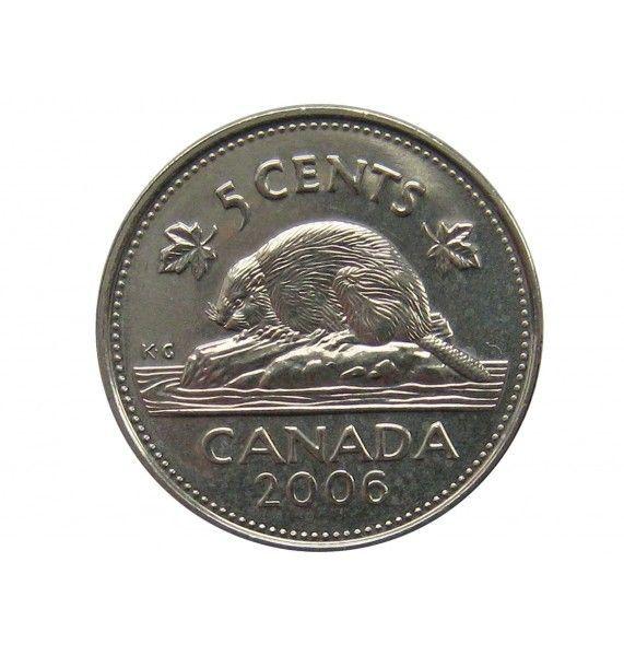 Канада 5 центов 2006 г.
