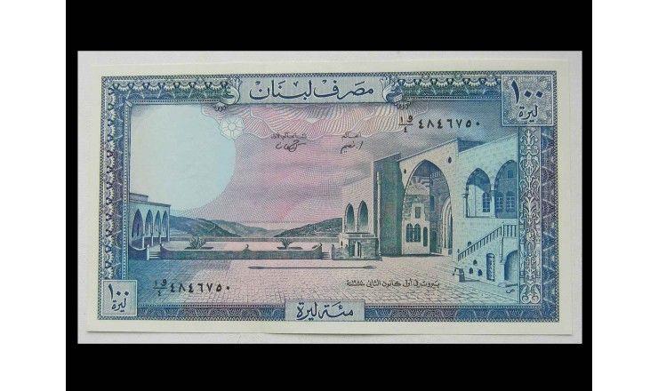Ливан 100 ливров 1988 г.