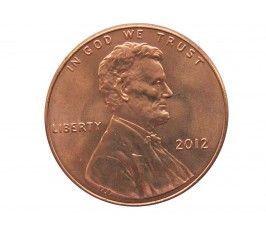 США 1 цент 2012 г.