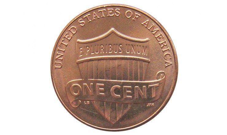 США 1 цент 2012 г. D