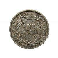 США дайм (10 центов) 1904 г.