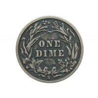 США дайм (10 центов) 1911 г. S