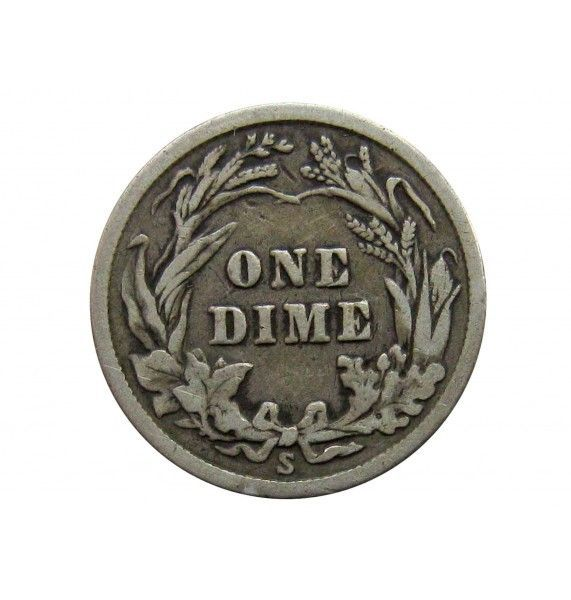 США дайм (10 центов) 1914 г. S