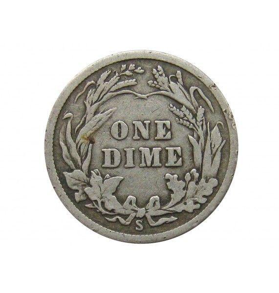 США дайм (10 центов) 1916 г. S