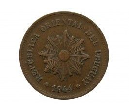 Уругвай 5 сентесимо 1944 г.