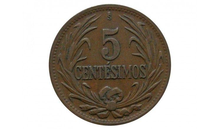 Уругвай 5 сентесимо 1948 г.