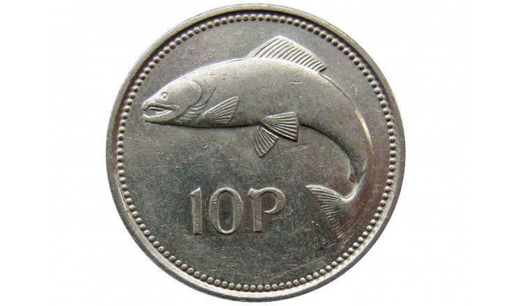 Ирландия 10 пенсов 1995 г.