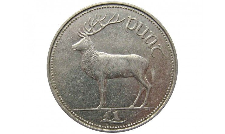 Ирландия 1 фунт 1990 г.