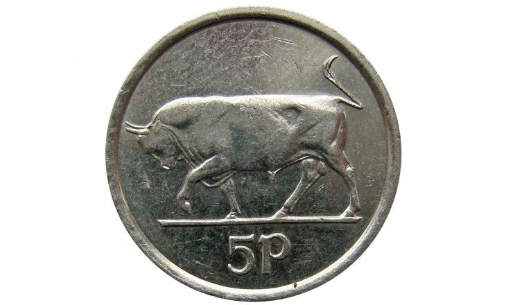 Ирландия 5 пенсов 2000 г.