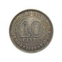 Малайя 10 центов 1939 г.
