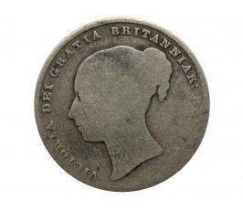 Великобритания 1 шиллинг 1846 г.