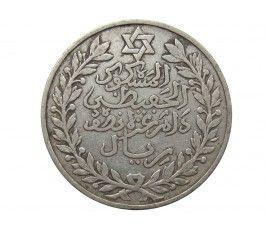 Марокко 1/2 риала (5 дирхам) 1911 (1329) г.