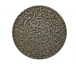 Марокко 1/4 риала (2,5 дирхама) 1903 (1321) г.