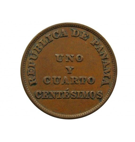 Панама 1 1/4 сентесимо 1940 г.