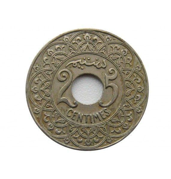 Марокко 25 сантимов 1921 г.