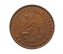 Боливия 50 сентаво 1942 г.