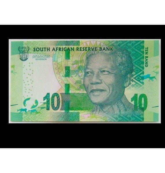 Южная Африка 10 рандов ND (2012 г.)