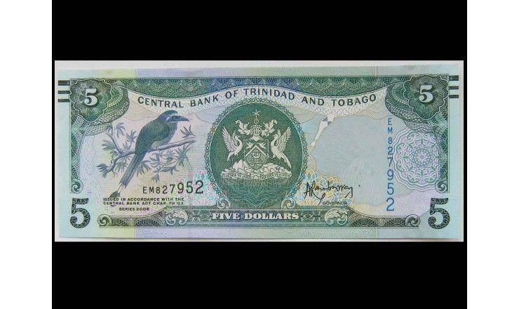 Тринидад и Тобаго 5 долларов 2006 (2015 г.)