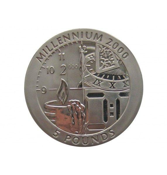 Гибралтар 5 фунтов 1999 г. (Миллениум)