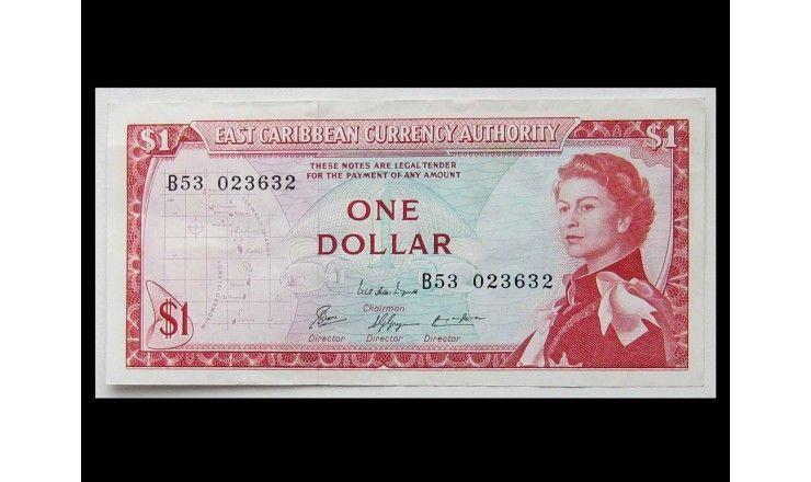 Восточно-Карибские штаты 1 доллар 1965 г.