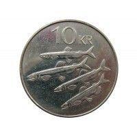 Исландия 10 крон 2004 г.